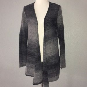 Pendleton wool light waterfall cardigan gradient M